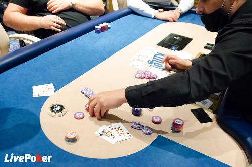 Fin du DAY 1 du High Roller du BIG MARVELLOUS POKER TOUR de Rozvadov