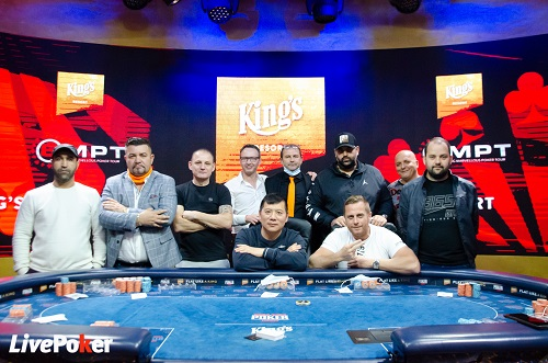 High Roller du BIG MARVELLOUS POKER TOUR - Composition de la Table Finale