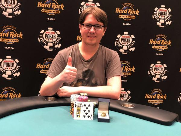 Poker : WSOPC : Isaac Kempton gagne le Main Event à  Tampa
