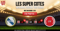 BETTING : Winamax double les cotes du Real Madrid et Liverpool