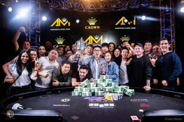 Poker : AUSSIE MILLIONS : Vincent Wan remporte le Main Event
