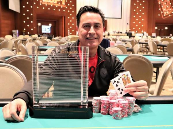 Poker :  2020 Borgata Winter Poker Open : Alberto Sabogalie remporte le Purple Chip Bounty face aux stars