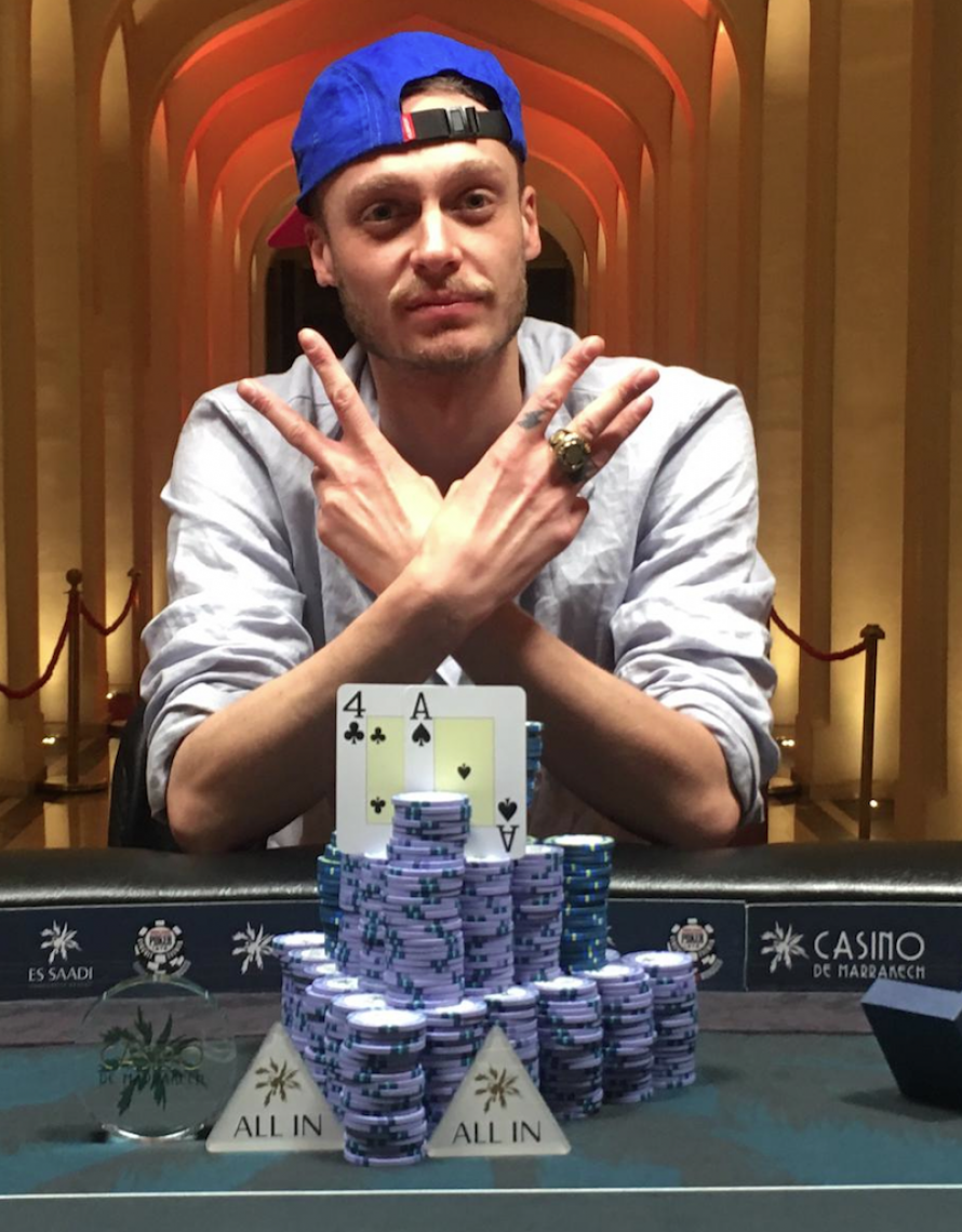 Photo du joueur de poker FOLLET Romain